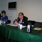 С докладом «О некоторых способах производства «застоя». Психоаналитический взгляд на кризис среднего возраста» выступает Зимин Виталий Александрович